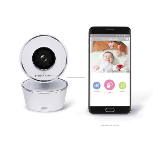 Project Nursery Smart Nursery Wi Fi Baby Monitor Price Comparison Reviews Nestbabymonitor Record Video And Snap Pho Project Nursery Baby Monitor Baby Photos