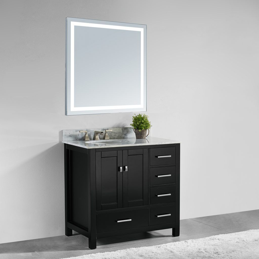 Make your bathroom a personal oasis with this innovative vanity set