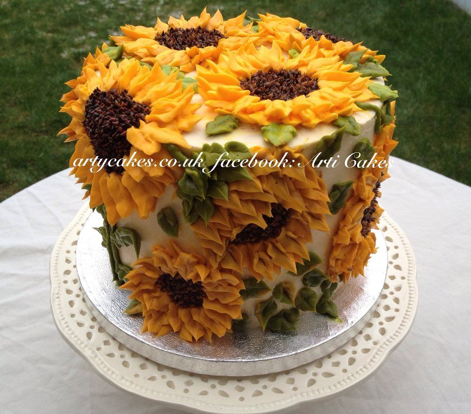 Gorgeous Sunflower Cake