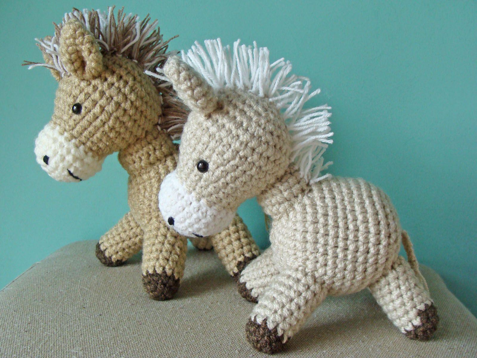 Amigurumis Caballitos A Crochet : Caballitos tejidos al crochet amigurumi amigurumi