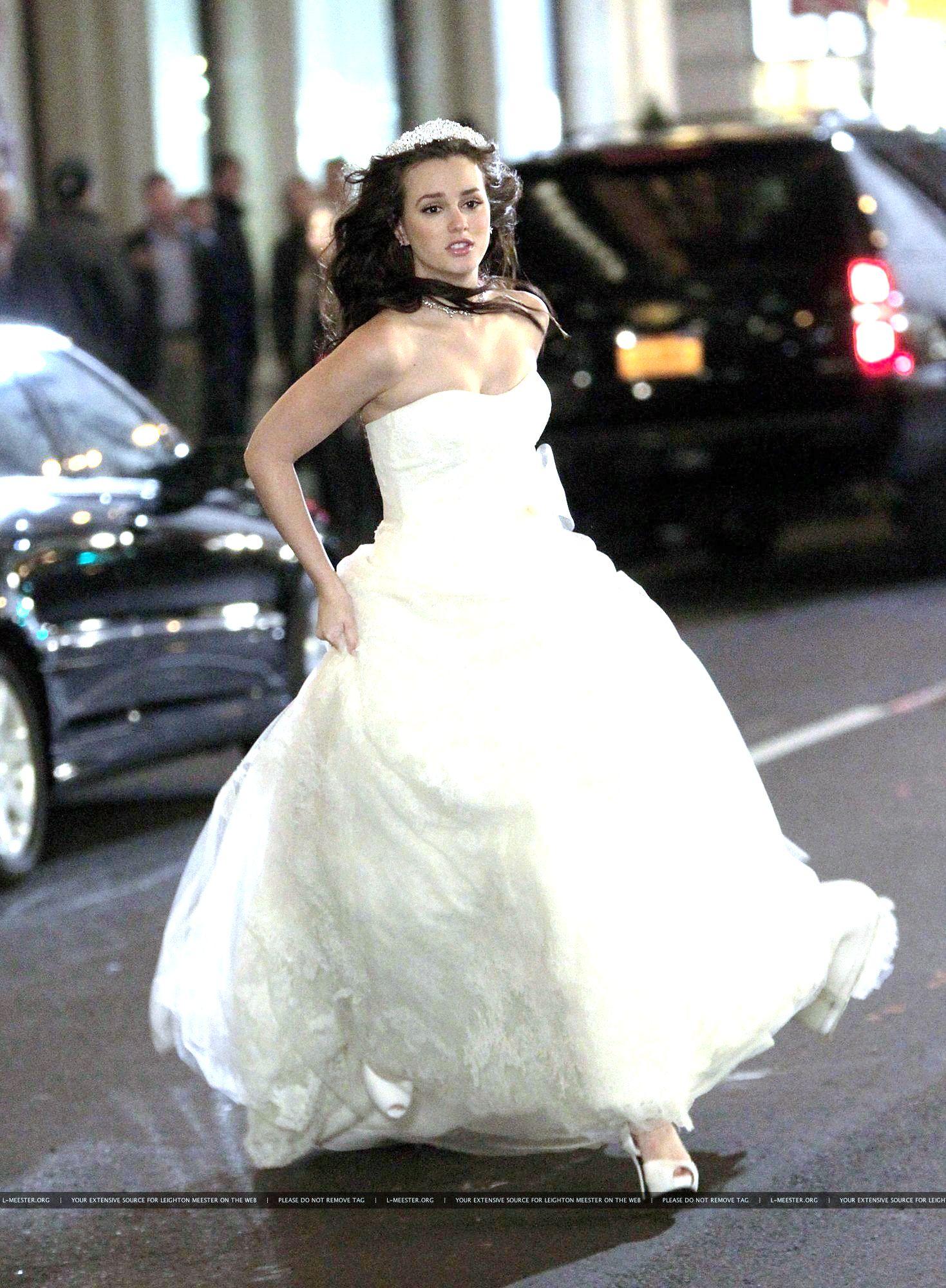 39eb761829ed #blair #waldorf #queen #gg #leighton #diva #gossip #girl #gossipgirl  #season #five #5x13 #GG #bride #royal #marriage #princess #monaco #grimaldi  #verawang