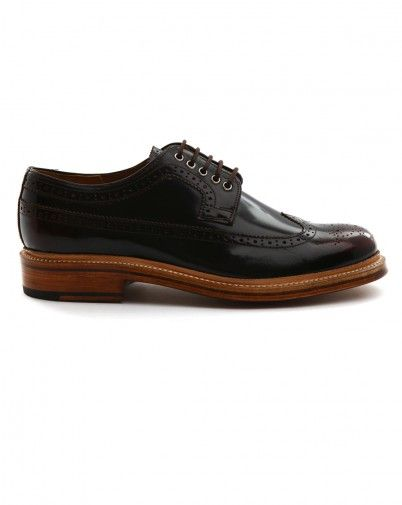 Grenson Dark Brown Sid Shoes Men S Fashion Pinterest