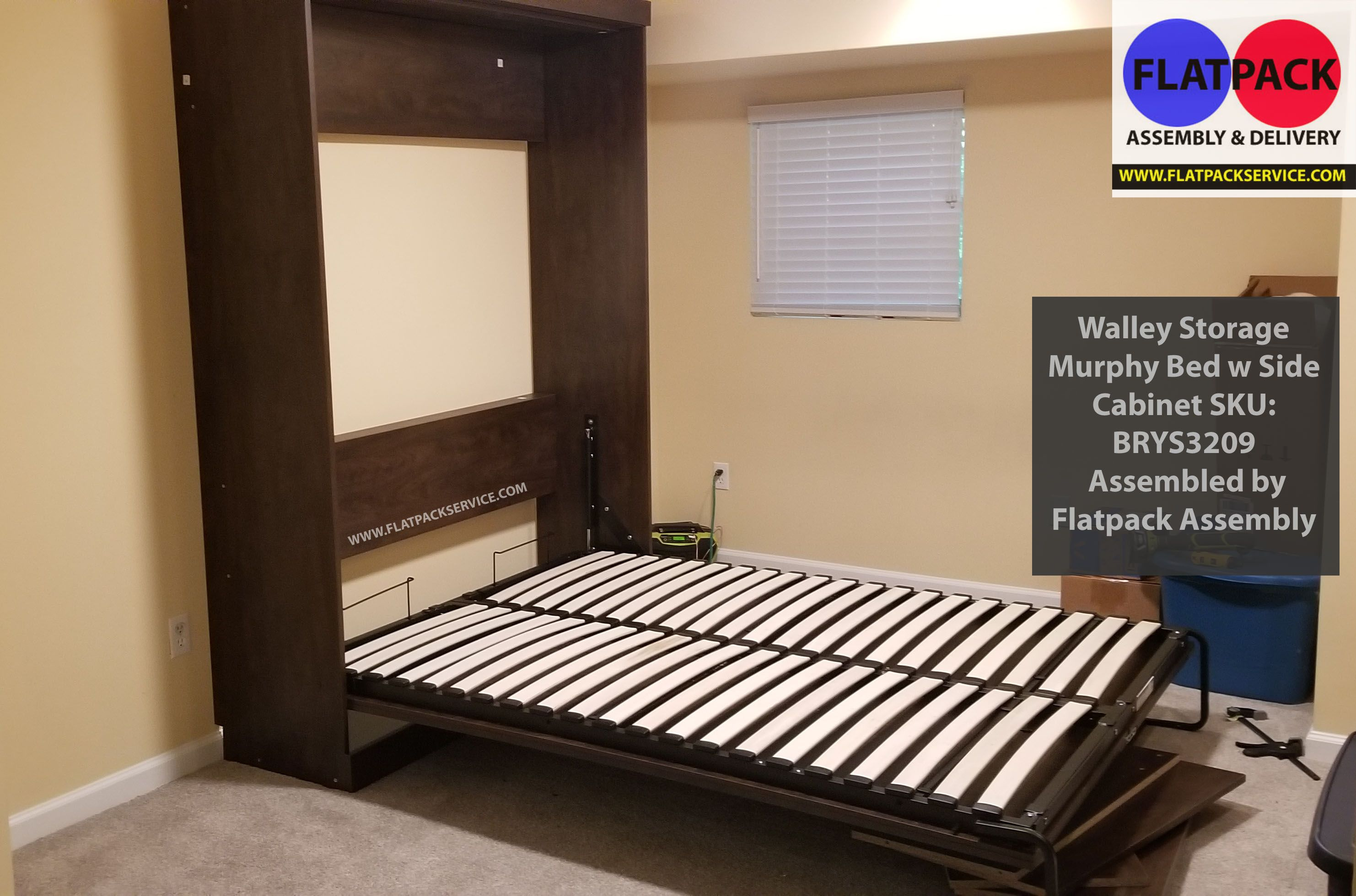 Wall Bed Murphy Bed Assembly Installation in Washington DC