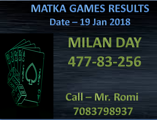MILAN DAY CLOSE RESULT matkagames onlinematkaplay