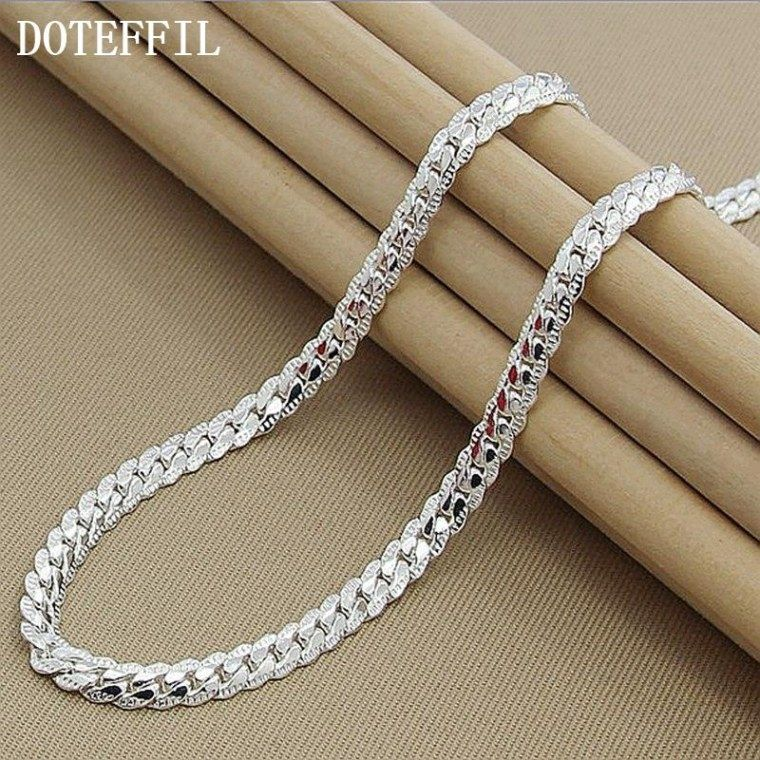 Beautiful Jewelry Jewellery Watch Repairs Chain Link Necklace Silver Mens Silver Necklace Silver Jewelry Fashion