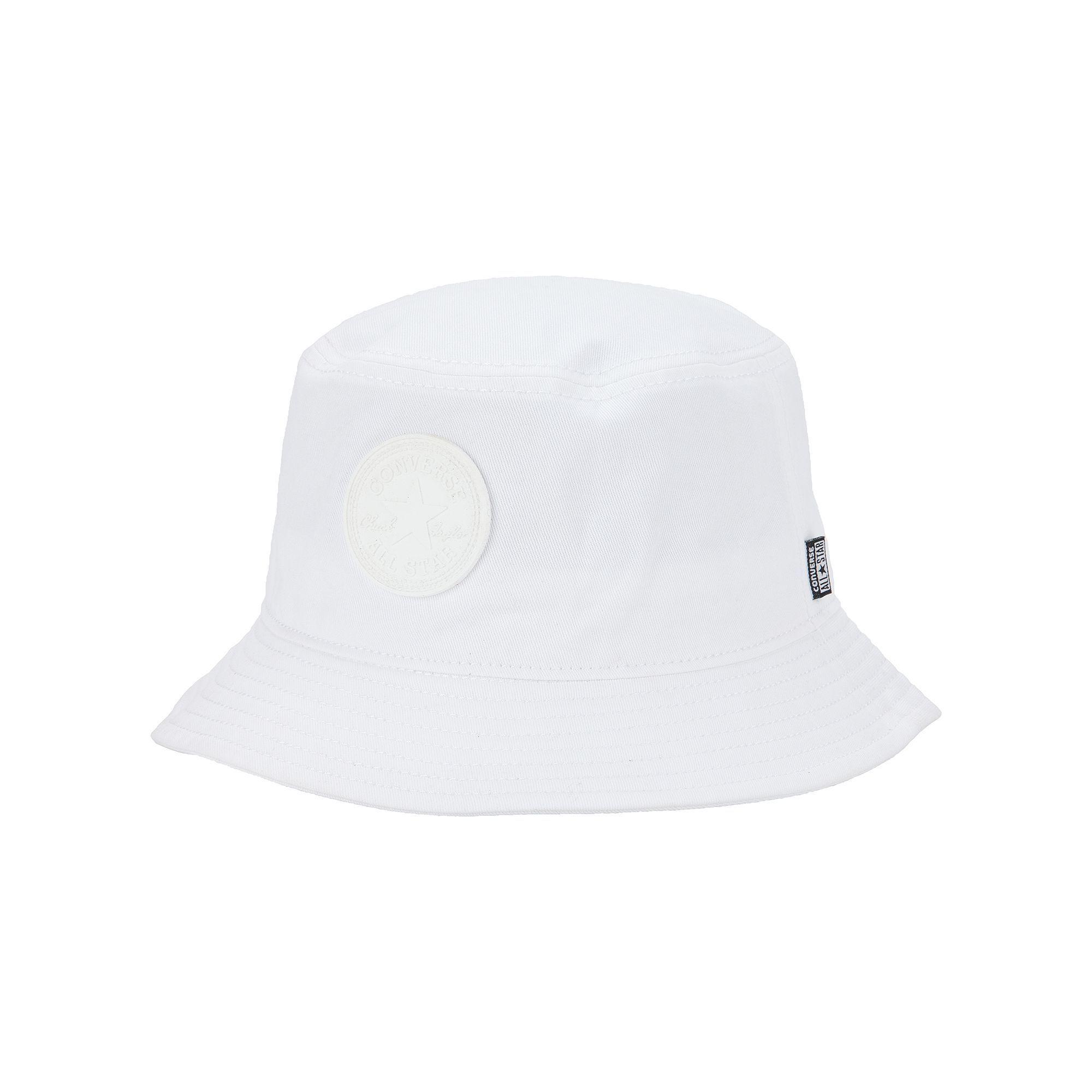 ba3c13d6 Adult Converse All Star Chuck Taylor Monochrome Bucket Hat, Men's, Size: L/ XL, White