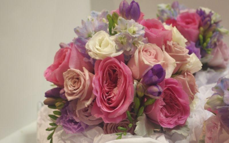 Bridesmaids Bouquets | Leanne Simmons Floral Design