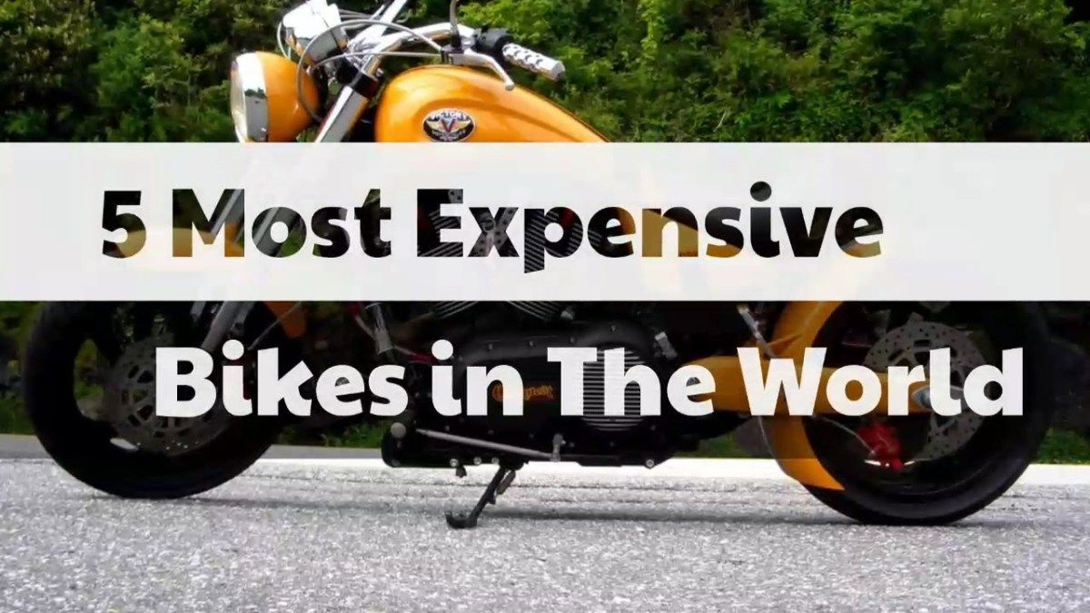 5 Most Expensive Bikes In The World 2017 Expensive Most