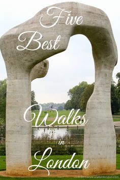 The 5 best walks in London! If you want to get to know the UK capital better, this is the way to do it.