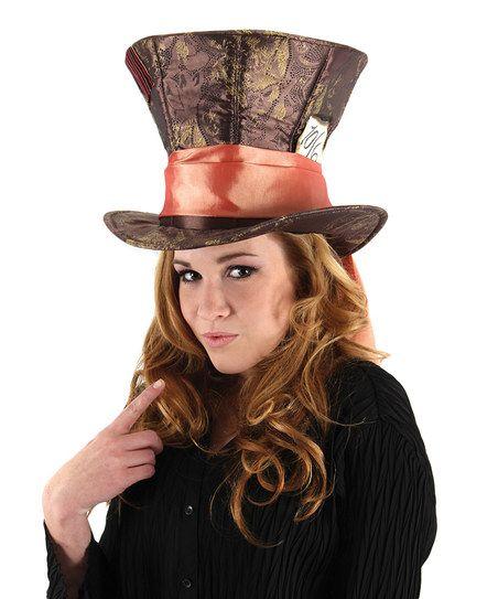Alice in Wonderland Mad Hatter Hat - Adult | zulily | wonderland ...