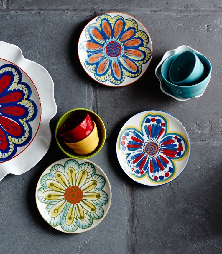 Details about 12Piece YELLOW Red Tuscan Southwest