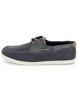 Chaussures, chaussons Chaussures bateau en simili Kiabi