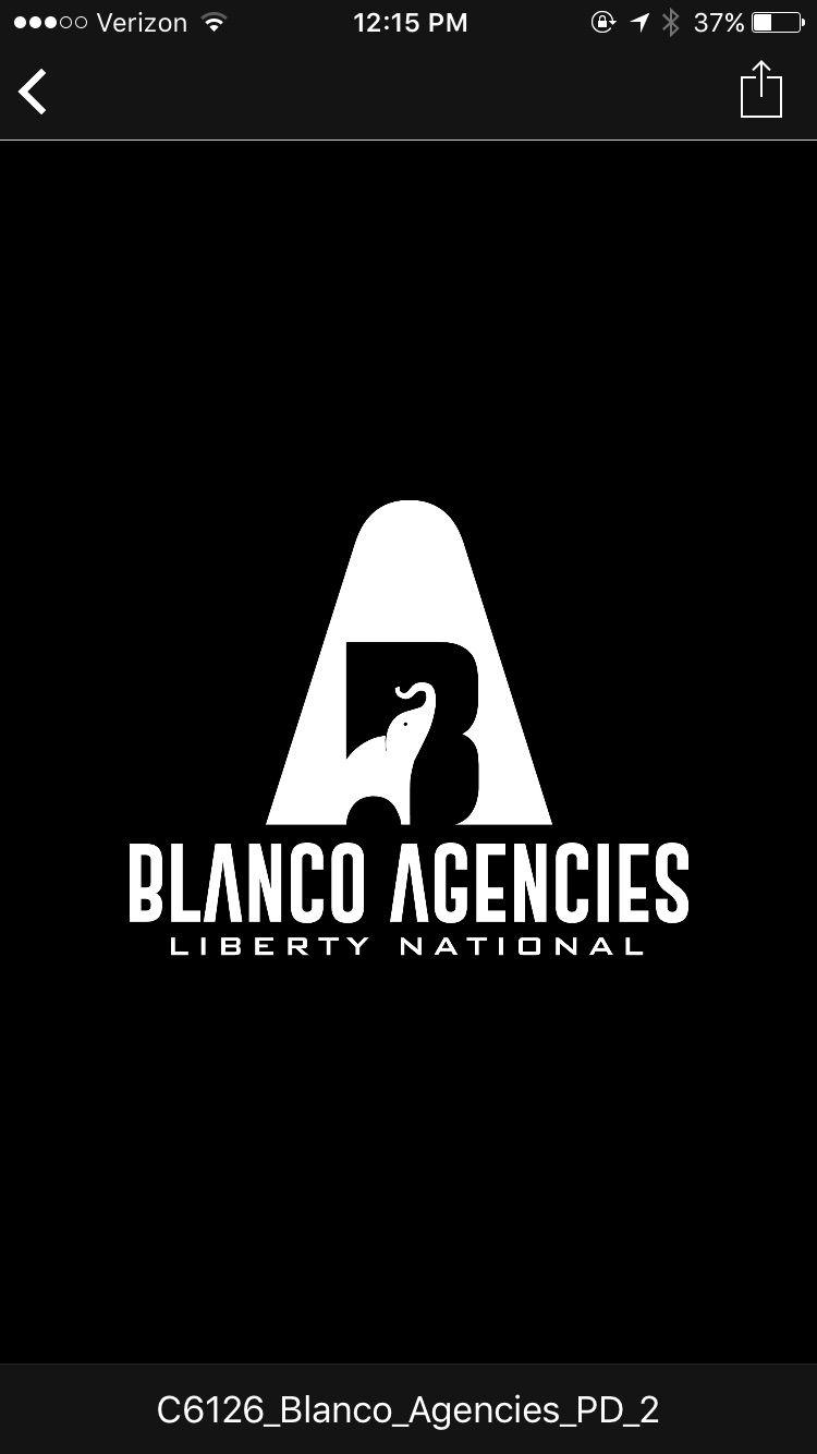 Elephant logo for insurance agency blanco agencies tampa