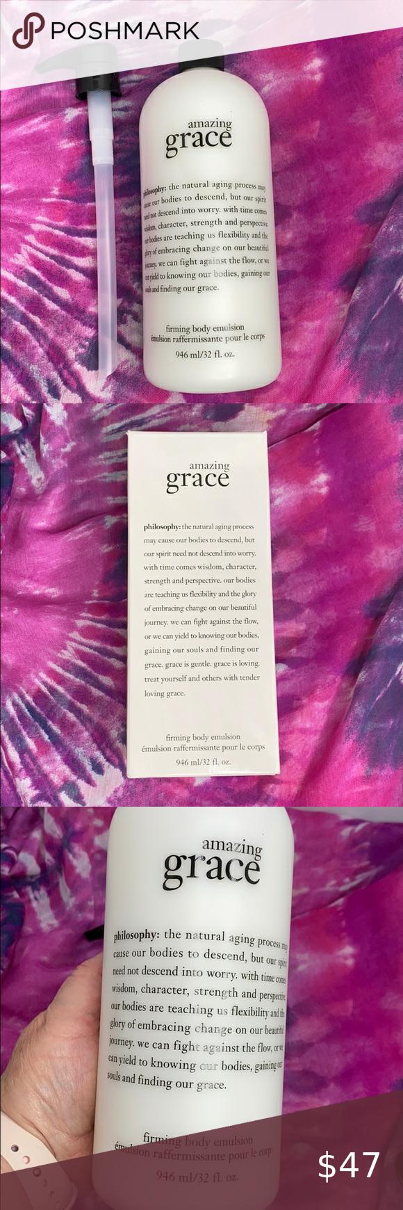 Philosophy Amazing Grace Body Lotion 32 Oz Philosophy Amazing Grace Body Lotion Amazing Grace