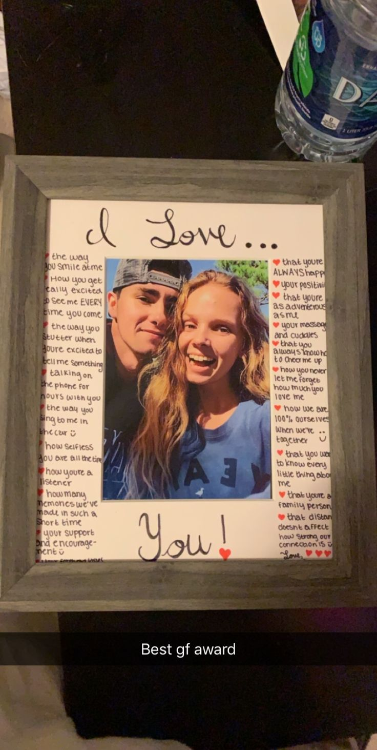 Made this for my boyfriend for Christmas. A great DIY Gift :-) ❤️ – BabaLife