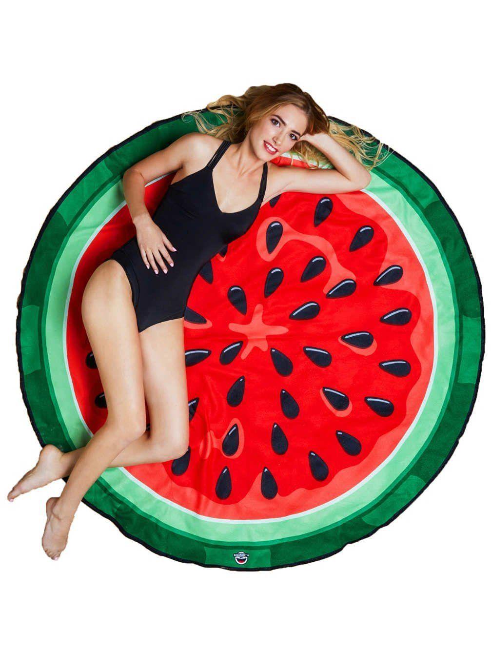 bigmouth inc fraise serviette de plage geant. Black Bedroom Furniture Sets. Home Design Ideas