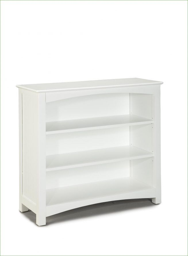 Low Bookcase White Wide Ikea Within