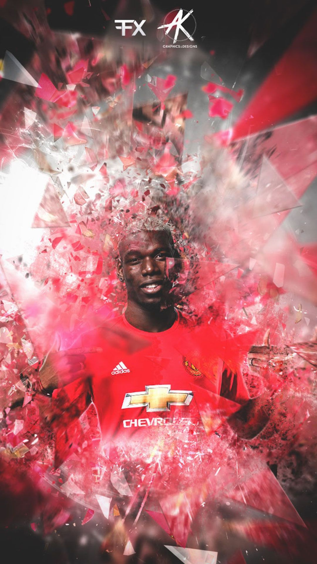 Paul Pogba Manchester United Iphone Wallpaper Iphone Paul Pogba Manchester United Pogba Manchester Manchester United