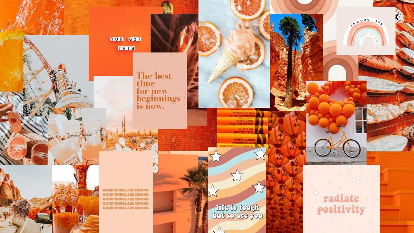 Orange Mac Wallpaper 11in In 2020 Macbook Wallpaper Cute Laptop Wallpaper Desktop Wallpaper Macbook