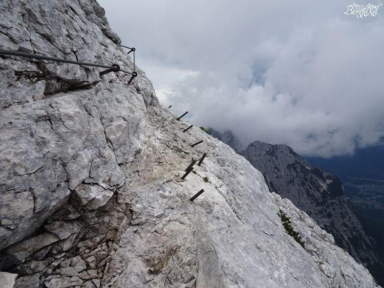 Klettersteig Bavaria : Alpspitze wandern ferrata klettersteig bayern hike