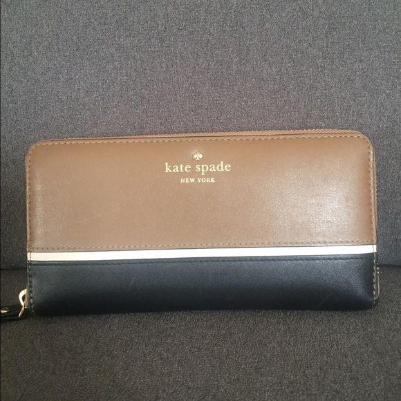 Kate Spade New York wallet - money receipts