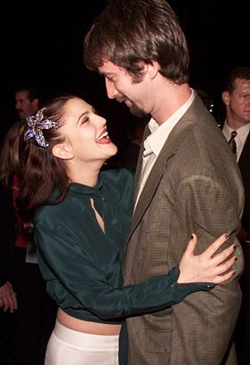 Drew Barrymore and Tom Green at the Premiere of Charlie's Angels in Los Angeles…