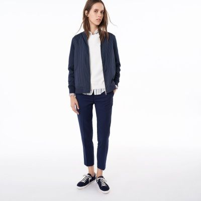 GANT Rugger Pinstriped Bomber Jacket #vermontfashion