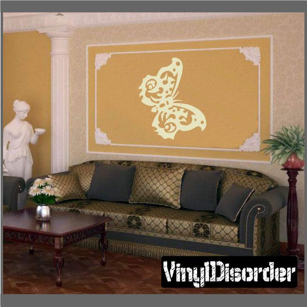 Butterfly Wall Decal - Vinyl Decal - Car Decal - CF157