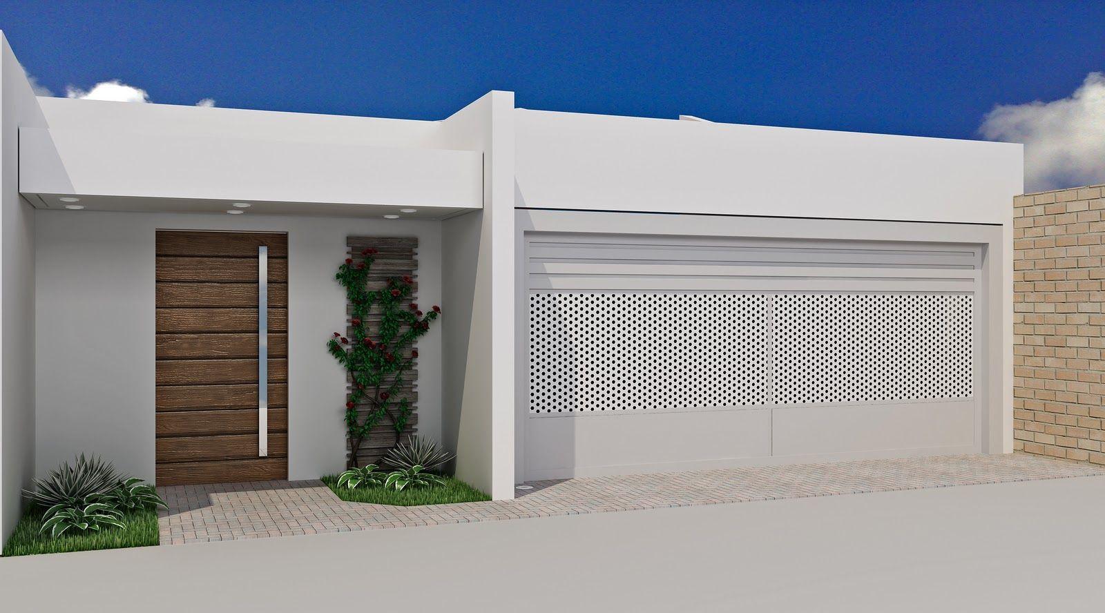 fachada-muros-portoes-7 FACHADAS DE SOBRADOS - houses facades ...