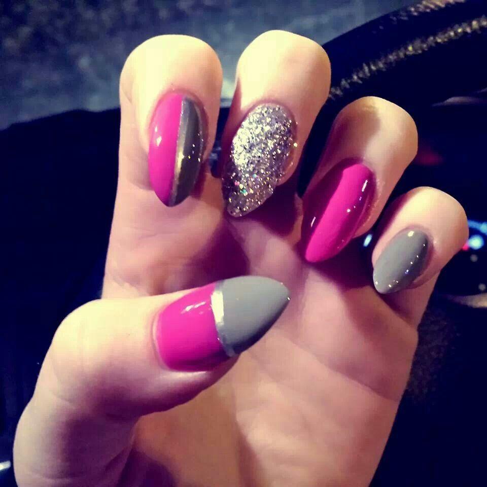 Shiny stiletto nail art | Stiletto Nails | Pinterest | Stiletto nail ...