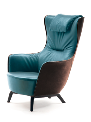 Mamy Blue Armschair Designed by Roberto Lazzeroni Italian ...