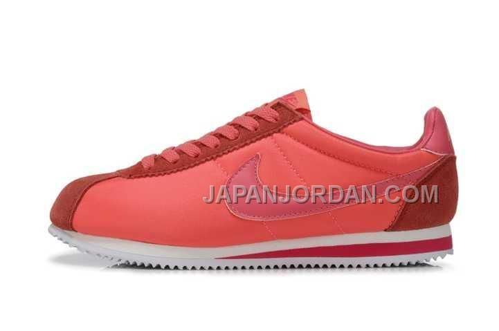 170331f91b4c Find this Pin and more on nike. Limited New Nike Classic Cortez Nylon  Womens Salmon Pink Trainers UK