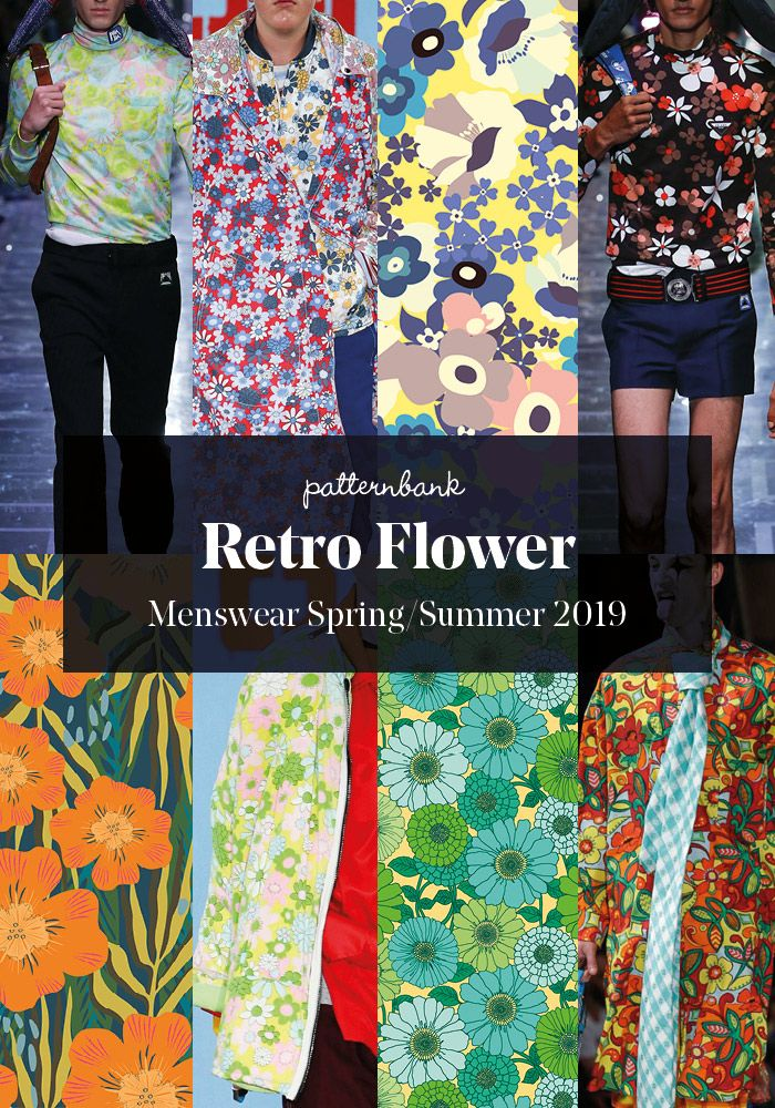 Menswear Spring/Summer 2019 – Print and Pattern Trend ...