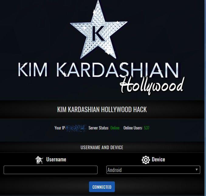 kim kardashian hollywood hack 2018 no human verification