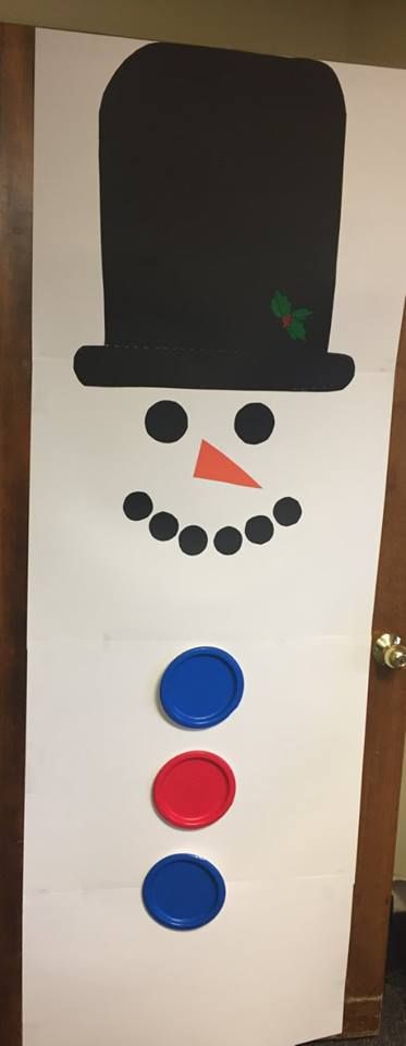 Frosty The Snowman Christmas Door Decorating Contest Christmas