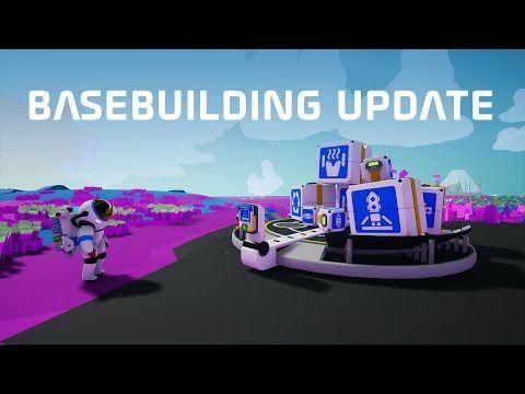 Astroneer - Basebuilding Update Trailer | Latest New Games