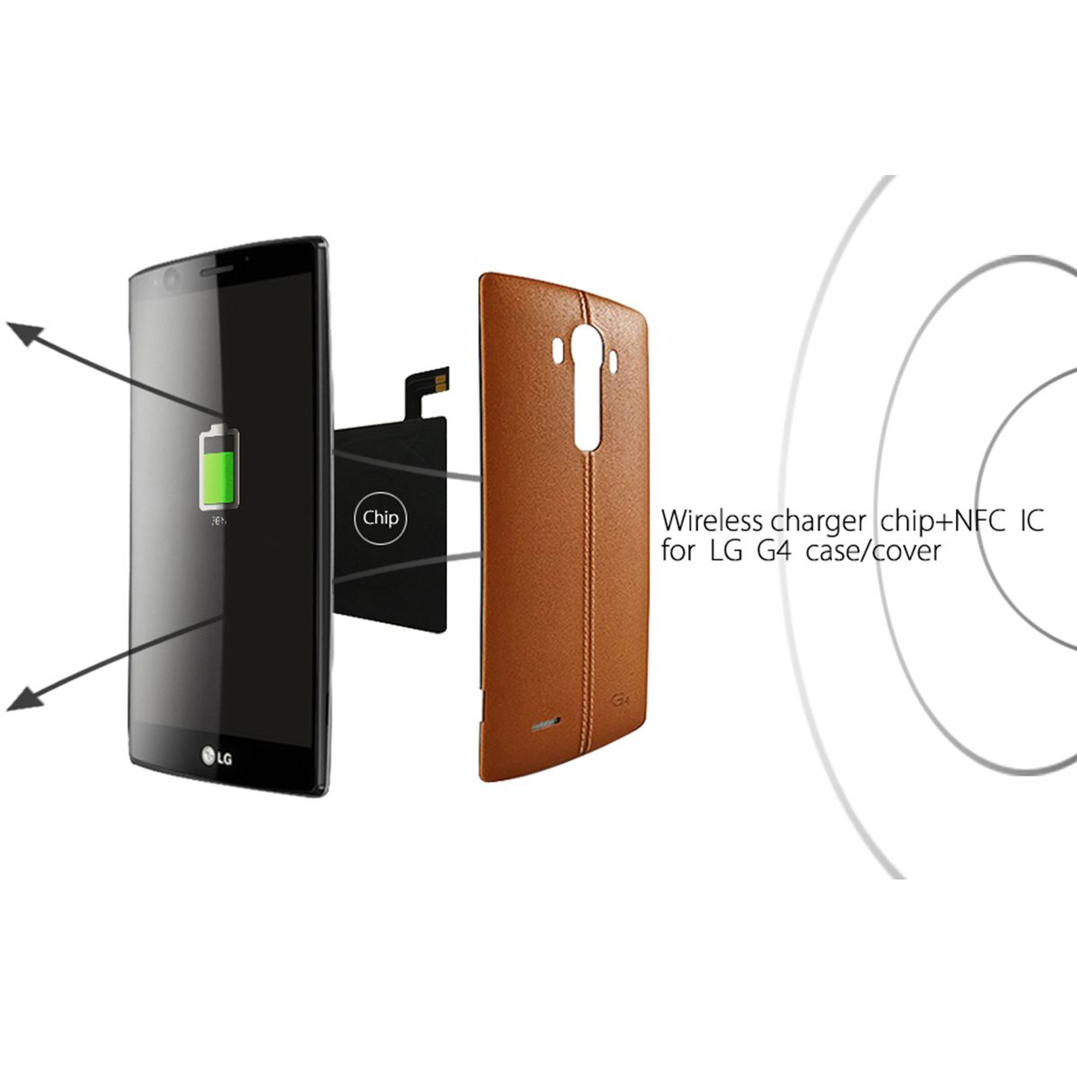Add Wireless Charging To Your LG G4 With NeWisdom G4 Qi