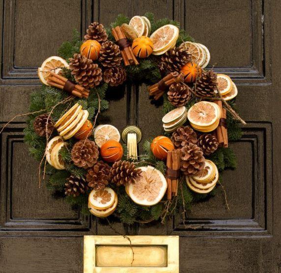 25 idee per decorare con la frutta secca tutorial for Idee per decorare