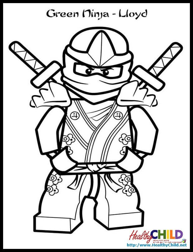 Ninjago Lloyd Zx Lego Coloring Pageslego Pagesprintable Picturescolouring