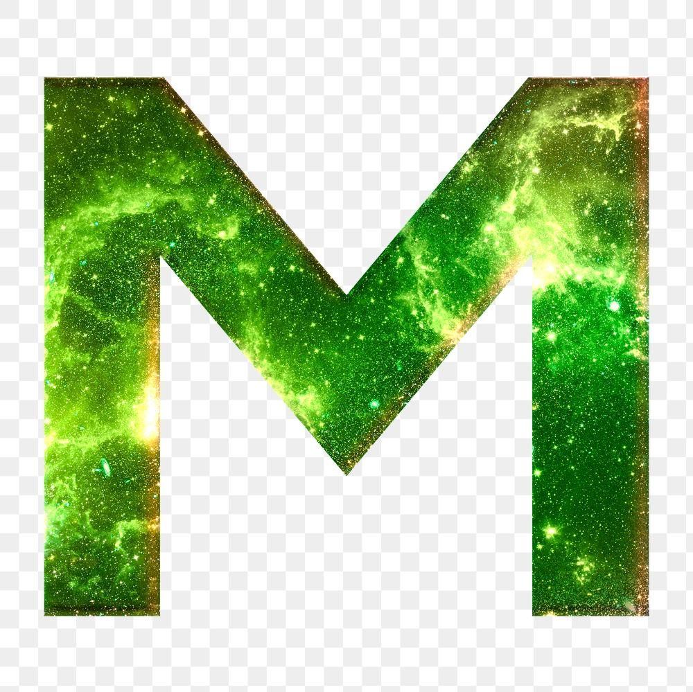 Png Letter M Galaxy Effect Typography Green Font Free Image By Rawpixel Com Karn Typography 3d Text Effect Lettering
