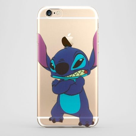 Funda Stitch Manzana para iPhone