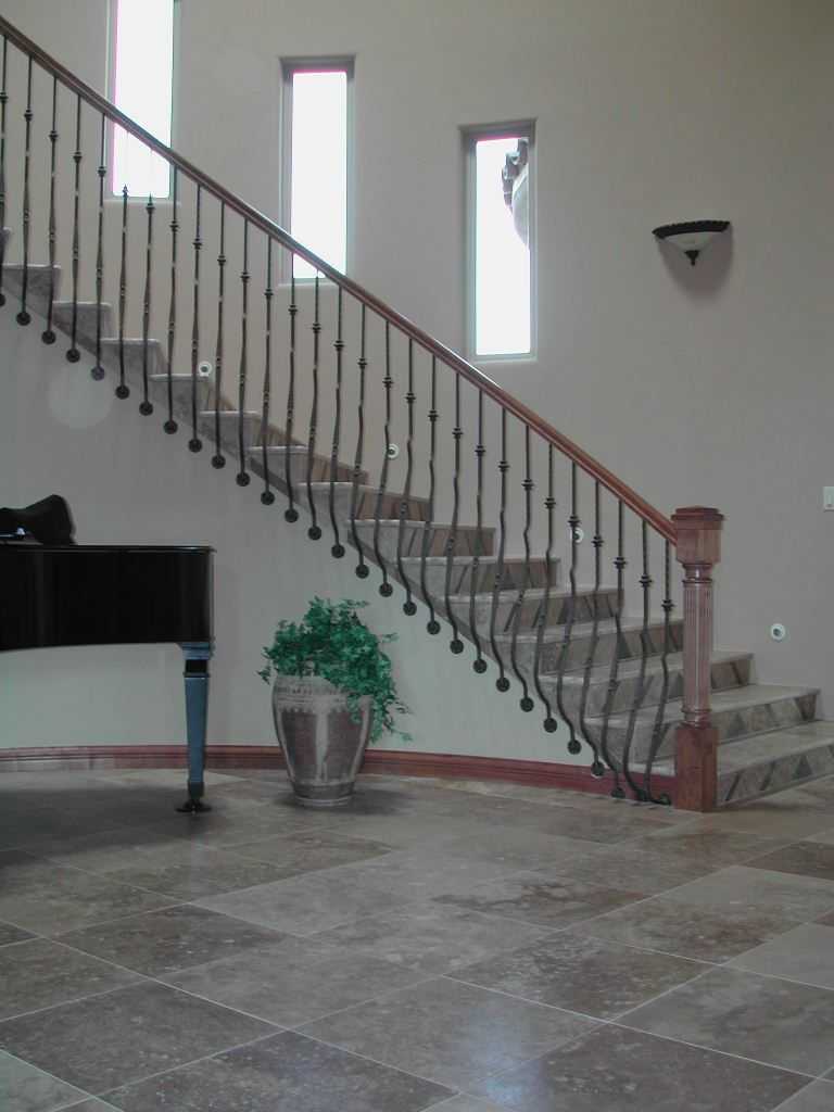 Best Side Mounted Belly Balusters Concrete Stairs Stairs 400 x 300