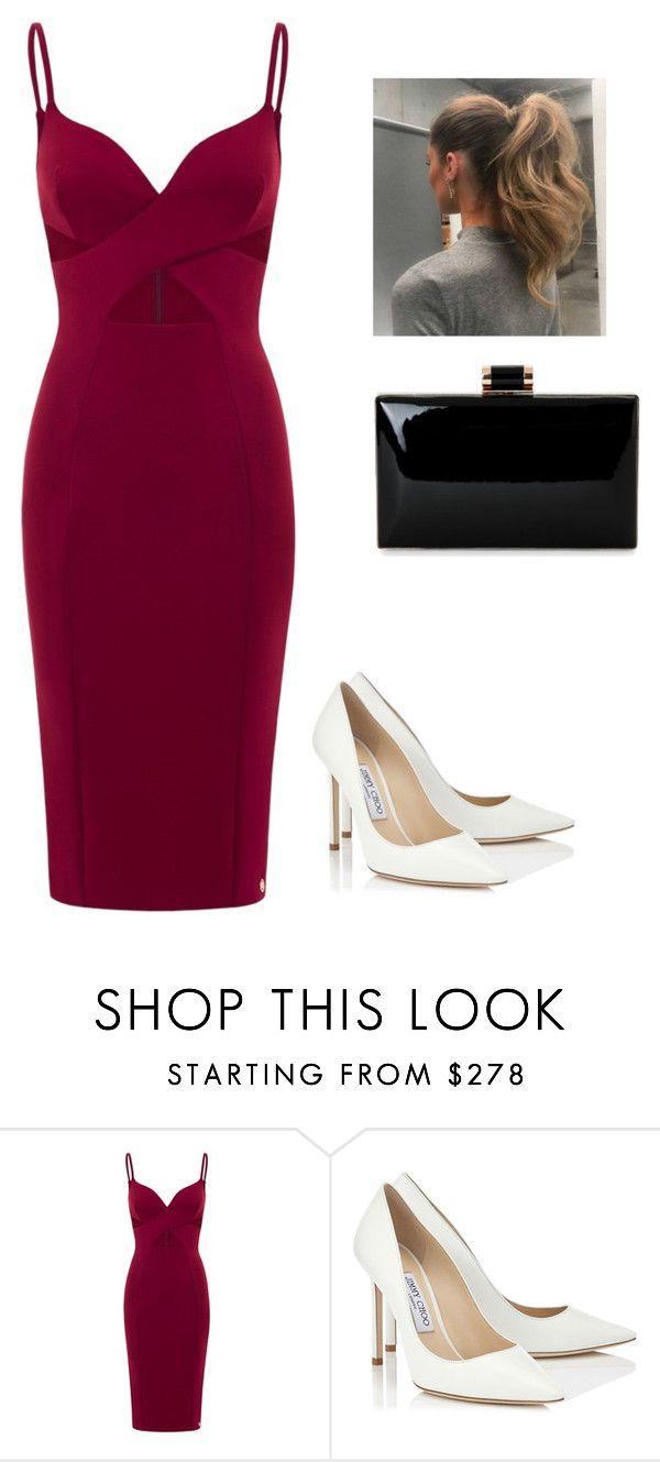 Ariana grande pink dress jimmy  regina vazques  Purple cocktails Hair accessories and Purse