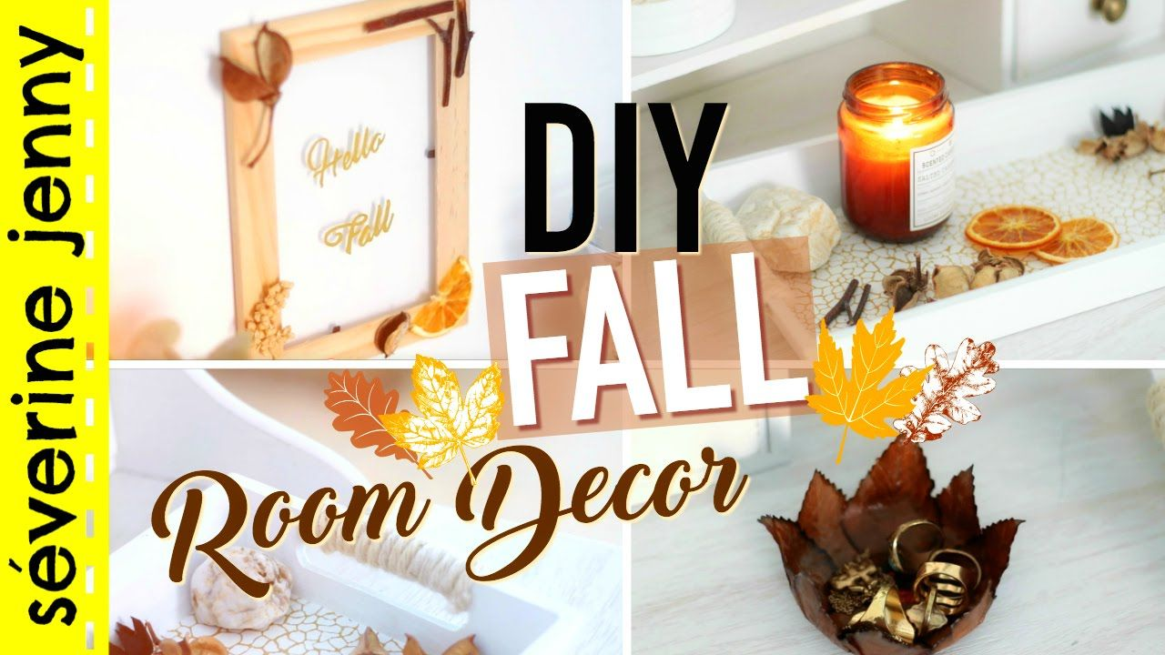 Deco D Automne Facile diy français : fall room decor / deco d'automne 2016   fall