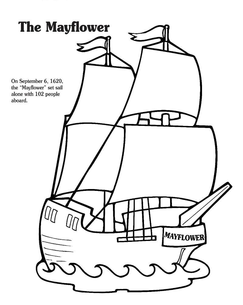 Mayflower Coloring Pages Best Coloring Pages For Kids Free Thanksgiving Coloring Pages Thanksgiving Coloring Pages Coloring Pages Inspirational