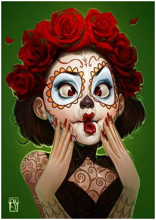 #sugarskull #dayofthedead