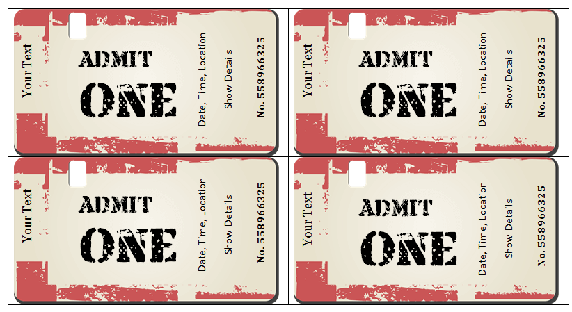 45 Raffle Ticket Templates Make Your Own Raffle Tickets Ticket Template Free Ticket Template Ticket Design Template
