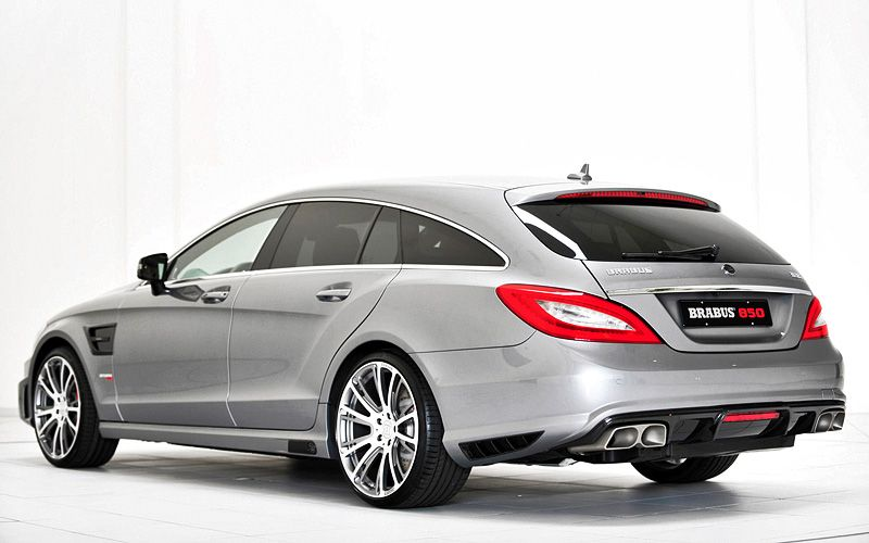 2013 Brabus Cls 63 Amg Shooting Brake 4matic 850 6 0 Biturbo