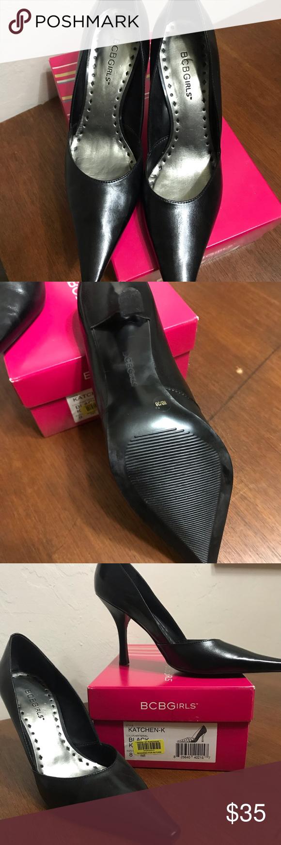 "1def20c073 BCBGirls Katchen Black Classic Pumps Heels NIB New in box. Perfect classic  heels. Heel height approximately 4"" BCBGirls Shoes Heels"