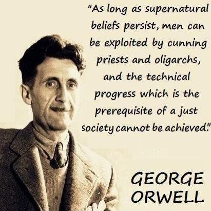 George Orwell Citation
